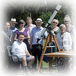 AAA visit Abbey Gardens for the transit of Mercury