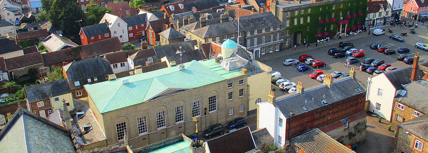 The Athenaeum and observatory from the Cathedral tower