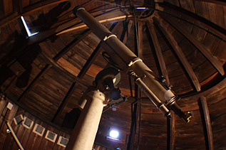 The Victorian Troughton & Simms 4-inch refractor telescope