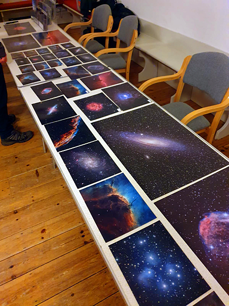 Sample astrophotographs