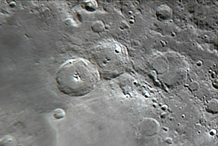 Theophilus, Cyrillus & Catherina craters